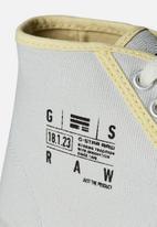 G-Star RAW - Rovulc silver coat mid - dk plum