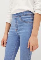 MANGO - Jeans jegging - blue