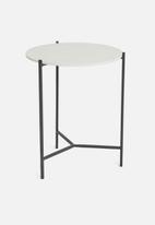 Sixth Floor - Otis side table - grey