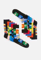 Happy Socks - Beatles gift box 6 pack - multi
