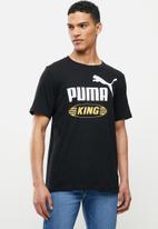 PUMA - Iconic king tee - puma black