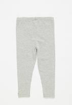 Sticky Fudge - 2 pack leggings - grey & orchid