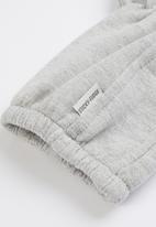 Sticky Fudge - Fleece booties - grey melange