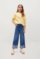 MANGO - Jeans betty - blue
