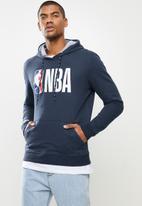NBA - Nba hooded sweater - navy