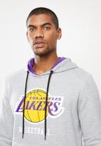 NBA - Lakers hooded sweater - grey