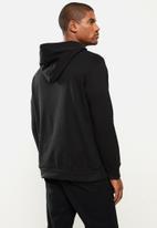 STYLE REPUBLIC - Plain hoodie pullover sweat - black