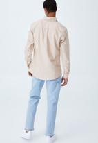 Cotton On - Brunswick shirt 3 - cookie