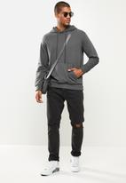 STYLE REPUBLIC - Plain hoodie pullover sweat - charcoal
