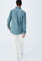 Cotton On - Brunswick shirt 3 - trooper blue