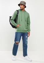 STYLE REPUBLIC - Plain hoodie pullover sweat - green