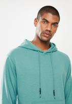 STYLE REPUBLIC - Plain hoodie pullover sweat - blue