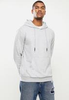 STYLE REPUBLIC - Plain hoodie pullover sweat - grey