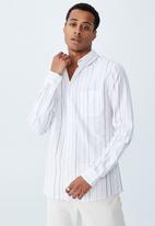 Cotton On - Brunswick shirt 3 - wide colour stripe