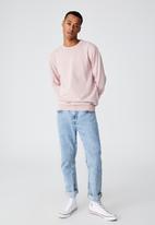Cotton On - Lightweight crew knit - dusty pink