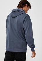 Cotton On - Premium collab fleece pullover - lcn nfl late night blue