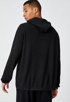 Cotton On - Super soft pullover hoodie - black supersoft