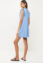 MANGO - Dress petra - light pastel blue