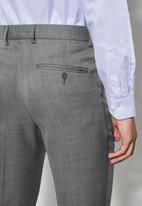 Superbalist - Charlie opp slim fit trouser - grey