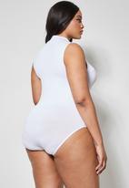 Superbalist - 2 pack poloneck bodysuit - black & white