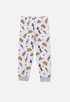 Cotton On - Florence long sleeve pyjama set licensed - white