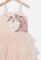 Cotton On - Iris dress up dress - peach
