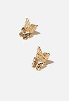 Rubi - Ear party stud - gold