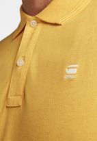 G-Star RAW - Dunda slim polo short sleeve - gold