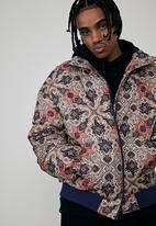 Factorie - Compton puffer jacket - turkish tile
