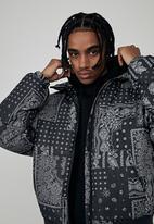 Factorie - Compton puffer jacket - black