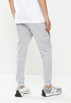 FUBU - Mens essential jogger - grey
