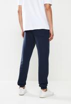 Holmes Bro's - Holmes belted trackpant - navy