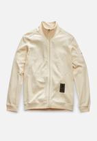 G-Star RAW - Sleeve badge zip tweeter r long sleeve - ecru