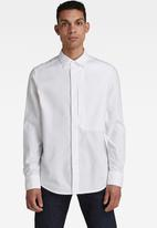 G-Star RAW - Oxford regular shirt  - white