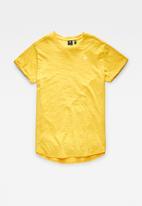 G-Star RAW - Lash r t short sleeve - mustard