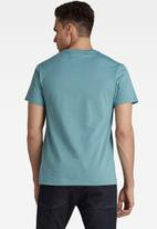 G-Star RAW - Base-s v t short sleeve - blue