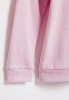 POP CANDY - Younger girls frill sleeve sweat top - pink