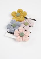 Cotton On - Hair multi packs - mixed boho floral pack