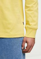 Converse - Hybrid world long sleeve tee - yellow