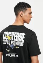 Converse - Street runner graphic tee - black
