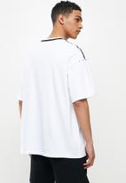 Converse - Court ready graphic tee - white