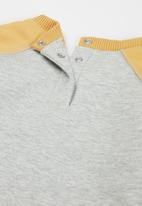 Cotton On - Tate & sully tracksuit - cloud marle/vintage honey