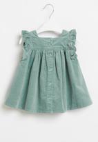 Cotton On - Twyla flutter dress - rusty aqua