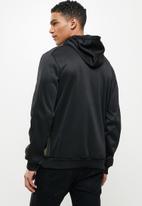 Cutty - Montana scuba kangaroo pouch hoodie - black