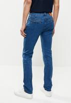 Jonathan D - Oscar straight leg jeans - sulphur