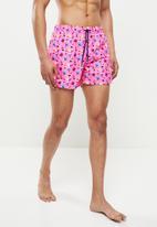 Happy Socks - Ice cream swim shorts - pink