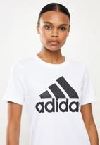 adidas Performance - Bl perfomance short sleeve tee - white