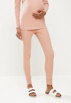Superbalist - Foldover cuffed leggings - pink