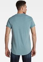G-Star RAW - Lash r t short sleeve - light bright nickel gd