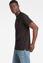 G-Star RAW - Military 3d woven pocket r t - dark black